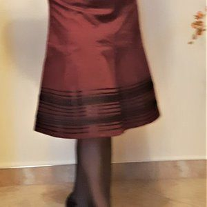 RW & Co Midi Skirt A-Line Skirt Size 4
